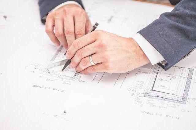 Architekten-Planung